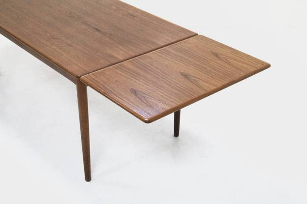 N.O. Moller Teak Dining Table Made in Denmark