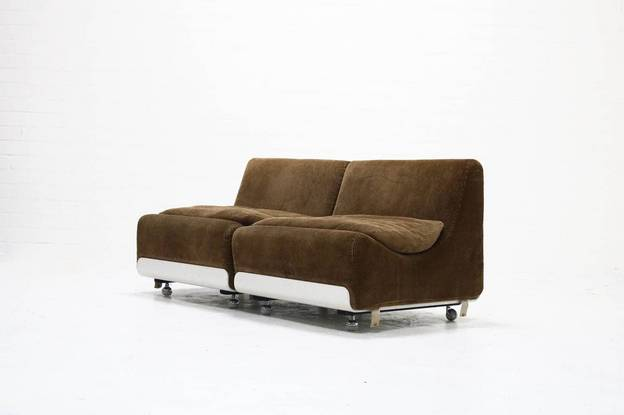Set of 2 Orbis Lounge Chairs by Luigi Colani for COR Sitzcomfort, 1970s