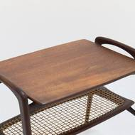Mid-Century Teak Side table by Louis van Teeffelen for WéBé, 1950's