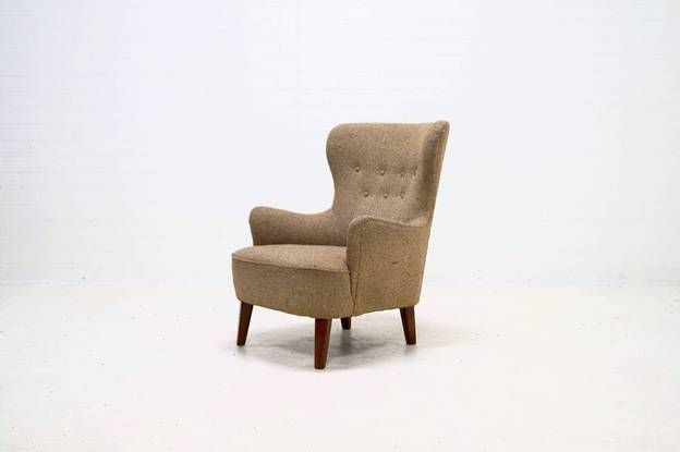Mid-Century Armchair by Theo Ruth for Artifort, 1950s