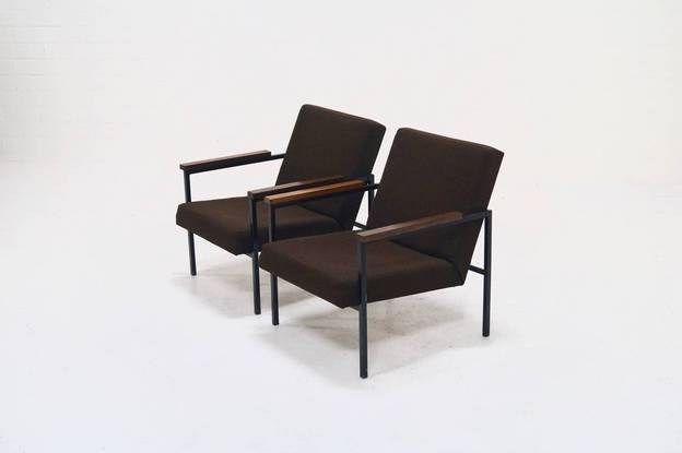 Set of two SZ30 Armchairs by Hein Stolle for 't Spectrum, 1960's