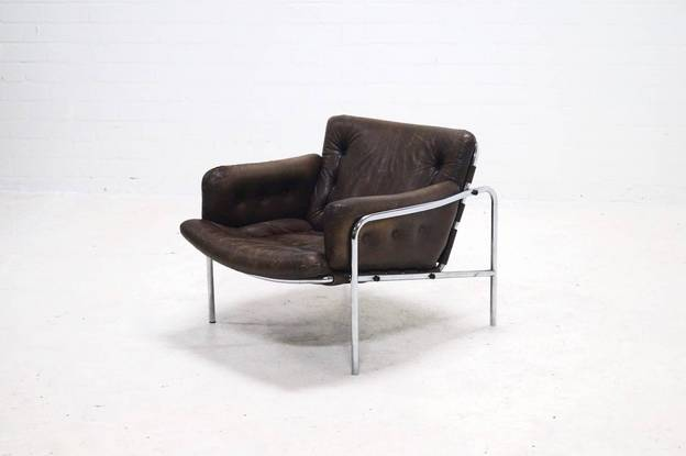 Osaka Lounge Chair by Martin Visser for 't Spectrum, 1960s