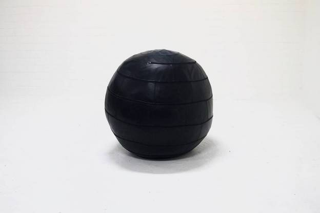 Leolux poof Leather Ball Adam's Temptation