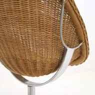 Rattan Lounge Chair by Dirk van Sliedregt for Gebr. Jonker, 1960s