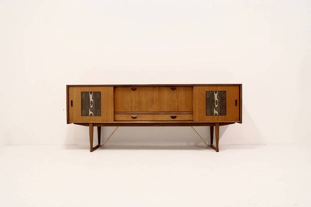 Mid-Century WéBé Sideboard by Louis van Teeffelen and Ravelli
