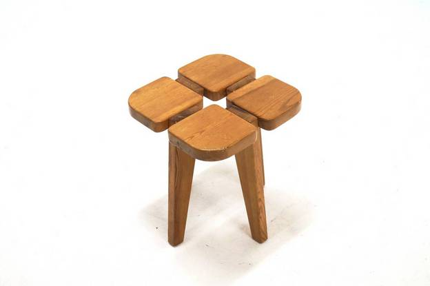 Lisa Johansson-Pape Stool for Stockmann, 1950s