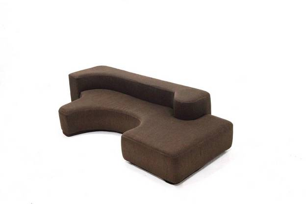 Sculptural Lounge Sofa Space Age Seating Element  1970's