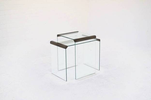 Italian Design Gallotti & Radice Side Tables from 1970's