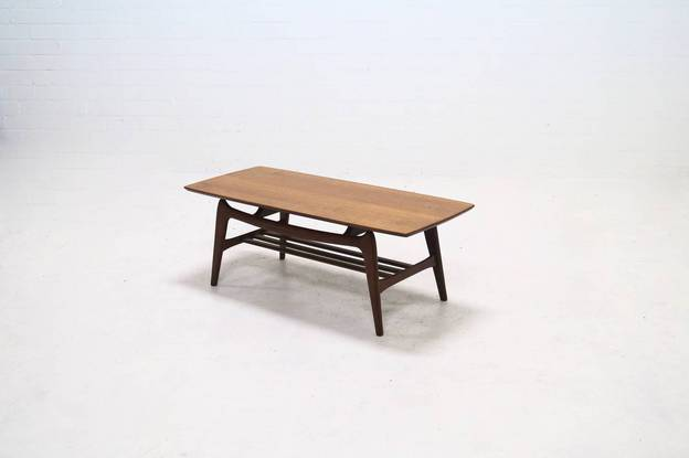 Teak WeBe Coffee Table by Louis van Teeffelen 1950's