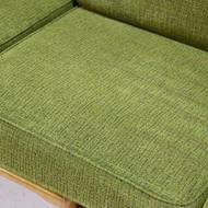 Mid-Century Sculptural 3 Seater Sofa Scandinavian Design 1950s