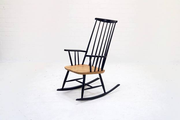Mid-Century Rocking Chair by Roland Rainer for 2k, 1960s