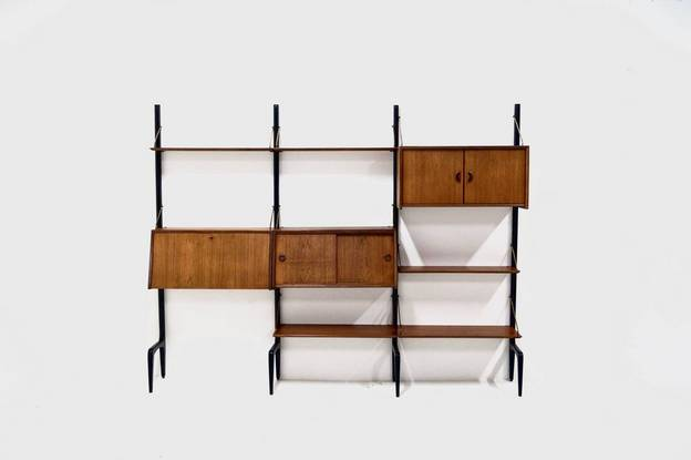 WeBe Wall Unit by Louis van Teeffelen 1950's