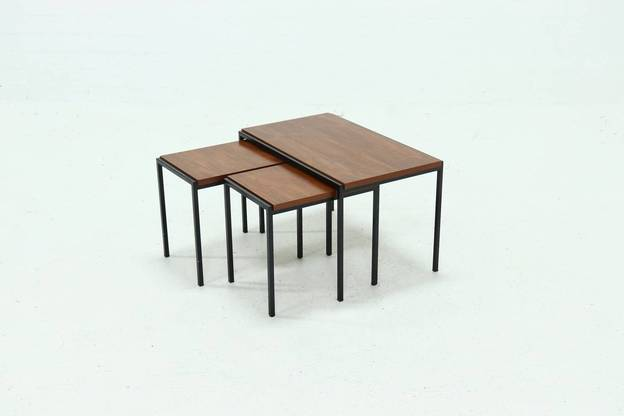 Pastoe Nesting Tables Japanese Series by Cees Braakman 1960s