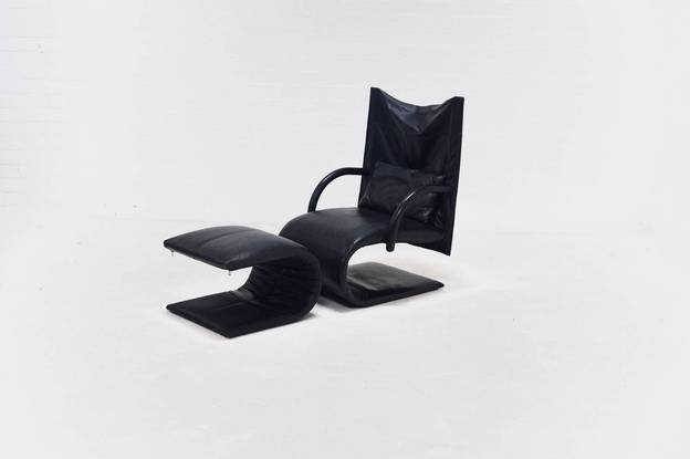 Ligne Roset Zen Lounge Chair Claude Brisson
