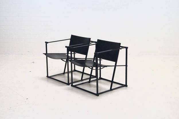 Set Pastoe FM61 Lounge Chairs Radboud van Beekum 1980's