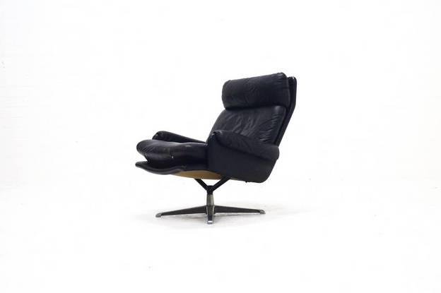 Mid-Century ESA Swivel Chair by Werner Langenberg, 1960's