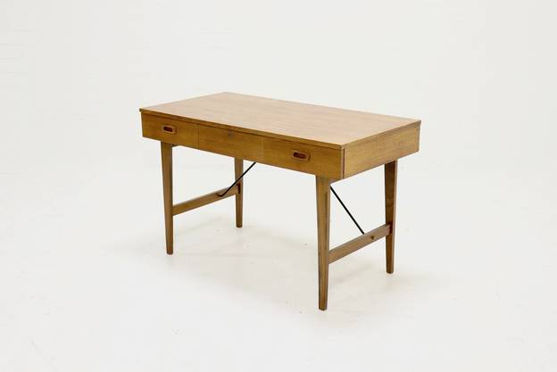 Mid Century Teak Writing Desk Danish Design 1960s
