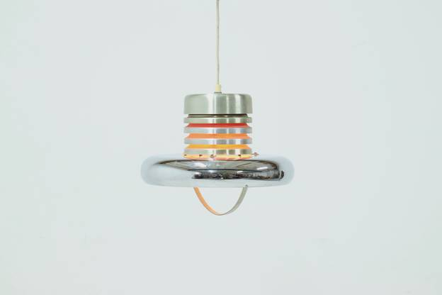Dutch Design Ceiling Lamp Pendant by Lakro 1960s