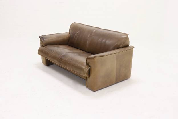Neck Leather 2,5-Seater Sofa from Leolux, 1970s