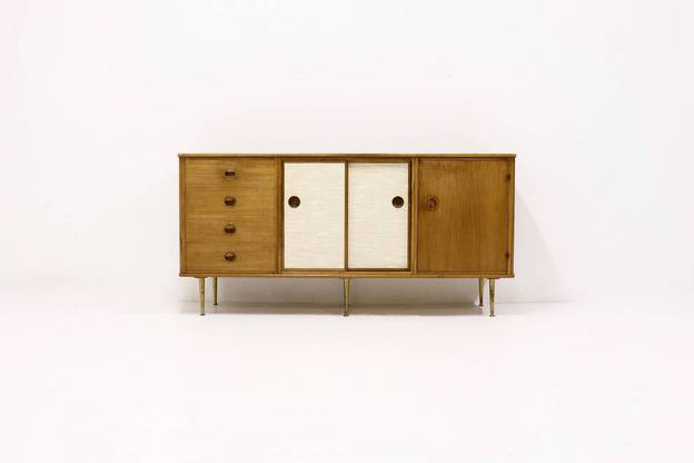 Walnut Sideboard by William Watting for Modernord 1960s