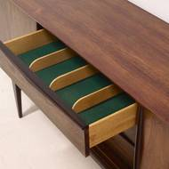 Rosewood sideboard by EW Bach for Sejling Skabe, 1960's