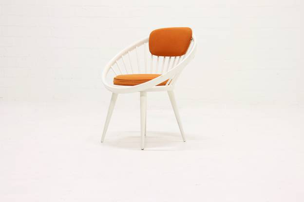 Scandinavian Circle Chair by Yngve Ekström for Swedese 1960s