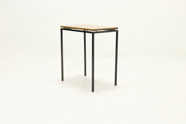 Minimalist Dutch Design Side Table 1950s