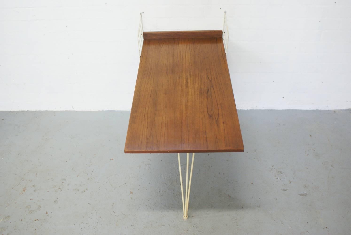 Bureau noir et chene bureau chene best chaise bois noir nouveau