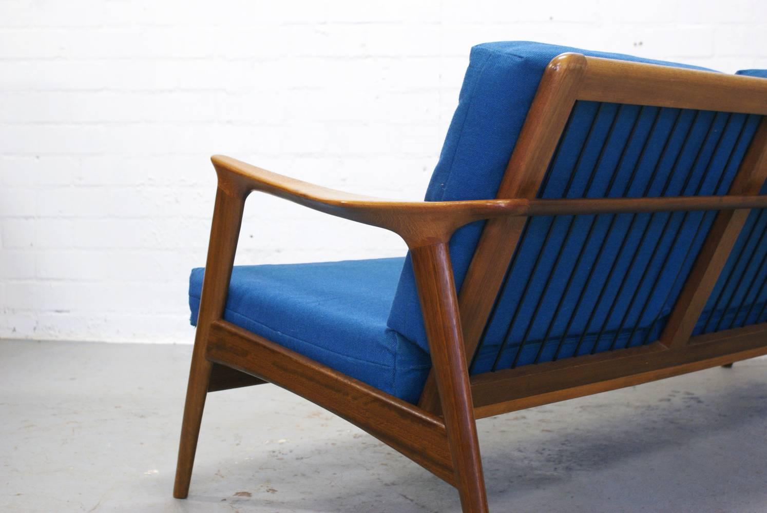 Retro Deens Design Leren Lounge Fauteuil Zetel Pictures